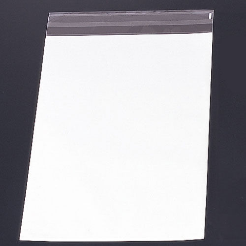 透明フィルム封筒 角2 ホワイト 100枚 43221-68228