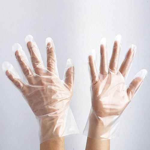 アトム ポリエチレン手袋 Mサイズ 100枚入
