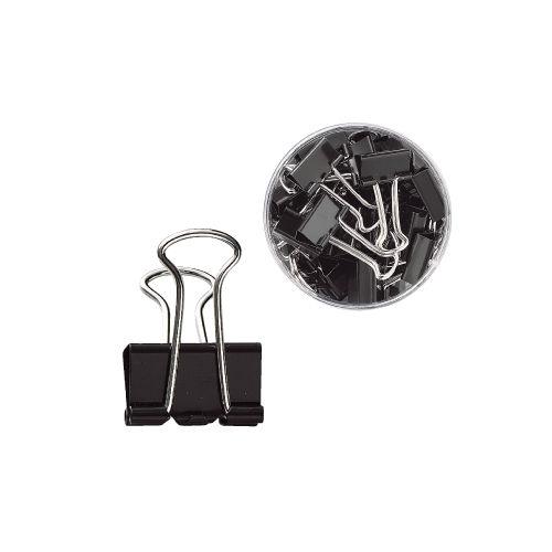 ダブルクリップ GRATES 小サイズ ブラック 40個入