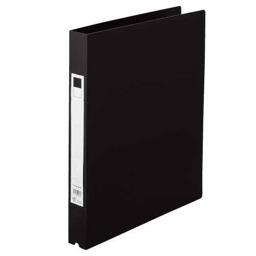 GRATES O型リング式ファイル A4タテ 黒