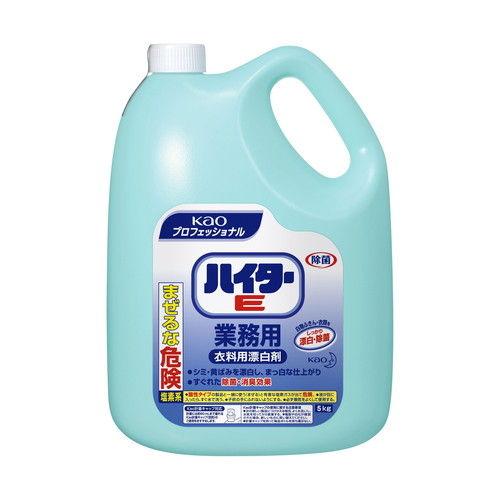 花王 衣料用漂白剤 ハイターE 業務用 5kg
