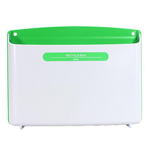 ソニック リサイクルボックス マグネット付 緑 MP-693-G