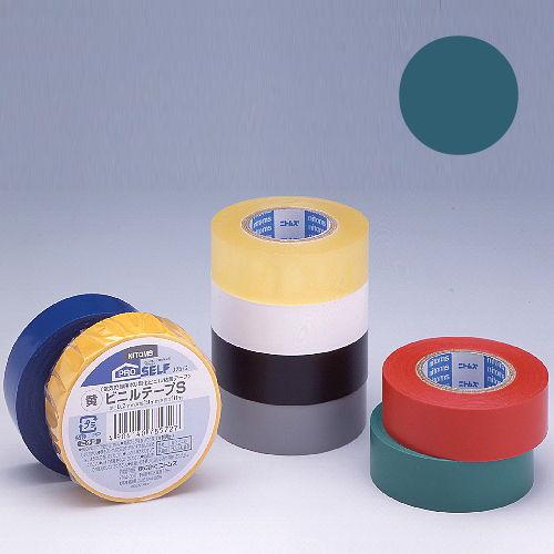 ニトムズ ビニールテープS 19×10mm 緑