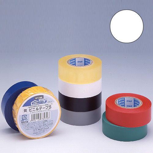 ニトムズ ビニールテープS 19×10mm 白