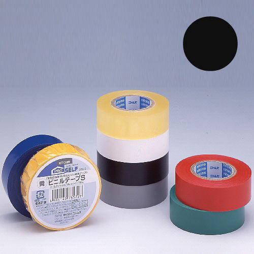 ニトムズ ビニールテープS 19×10mm 黒