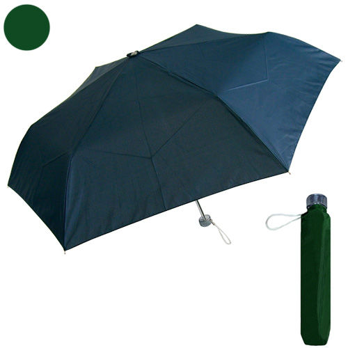 紳士軽量折り畳み傘 55cm カーキ