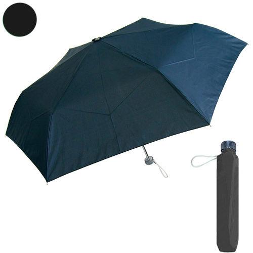 紳士軽量折り畳み傘 55cm ブラック
