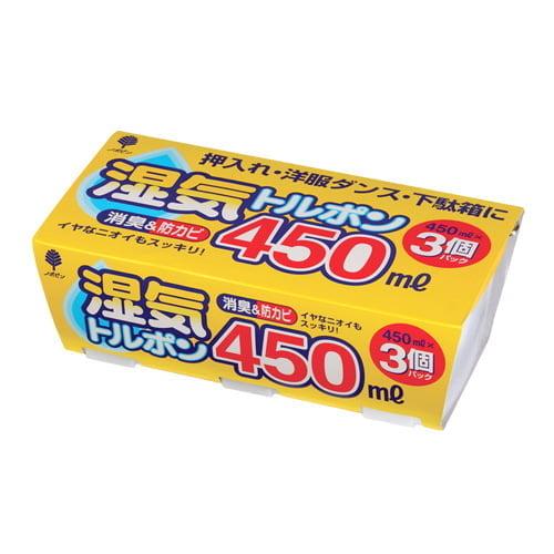 除湿剤 湿気トルポン 450ml 3個パック