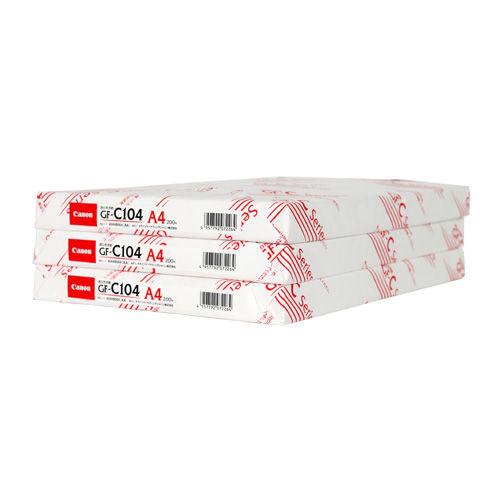 キヤノン コピー用紙 厚口用紙 A4 200枚 GF-C104