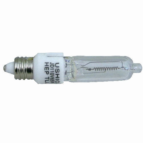 朝日電器 白熱電球 ミニハロゲンランプ 110V用 100W形 E11口金 JD110V85WHE-B