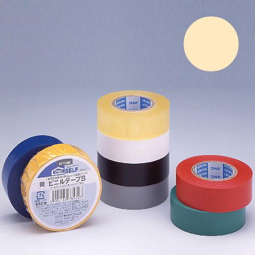 ニトムズ ビニールテープS 19×10mm 透明