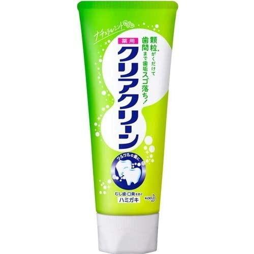 花王 歯磨き粉 クリアクリーン ナチュラルミント 120g