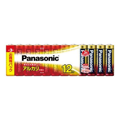パナソニック アルカリ乾電池 単3形 12本 LR6XJ/12SW