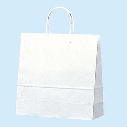 手提紙袋 白無地紙袋 320×310×115 白無地 50枚 3250700