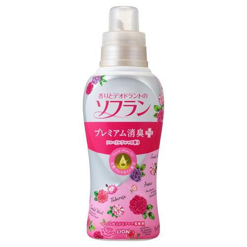 ライオン 柔軟剤 ソフラン 香りとデオドラントのソフラン プレミアム消臭プラス フローラルアロマの香り 本体 620ml