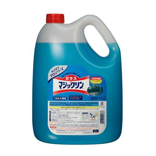 花王 ガラス用洗剤 マジックリン ガラスマジックリン 業務用 4.5L