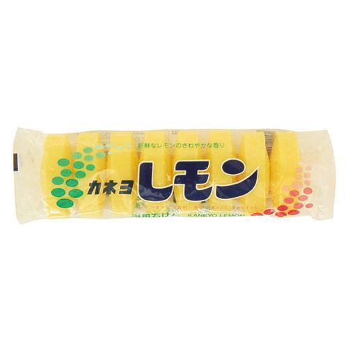 カネヨ石鹸 固形石けん レモン 8個