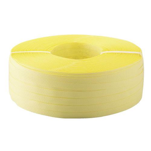 PPバンド 手締め用 幅15.5mm×1000m巻 黄 1巻