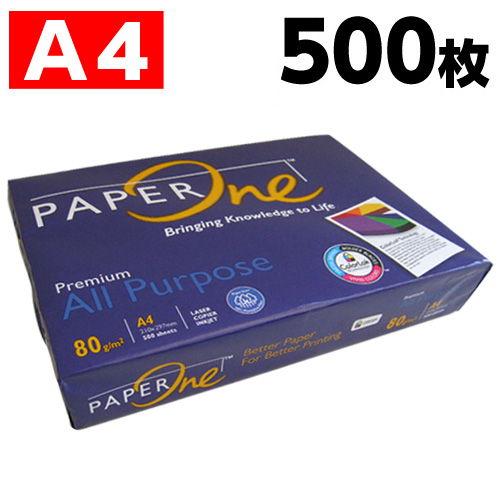 コピー用紙 ペーパーワン 中厚口 A4 500枚