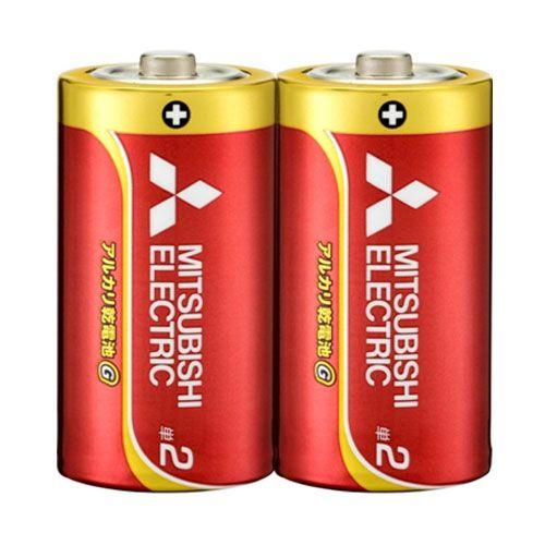三菱電機 アルカリ乾電池 単2形 シュリンクパック 2本 LR14GH/2S