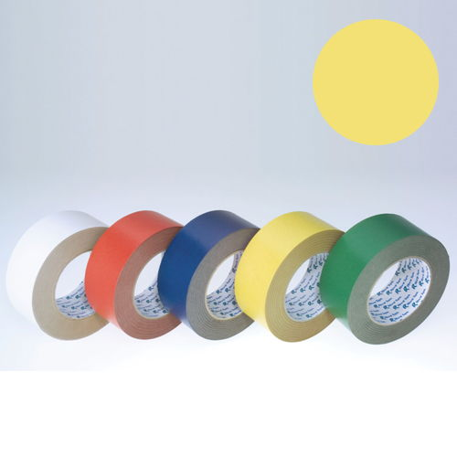 リンレイテープ カラークラフトテープ 黄 #240