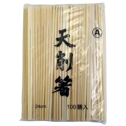 昭和製箸 竹箸 竹天削箸 割りばし 9寸(24cm) 100膳
