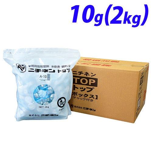 ニチネン 固形燃料トップボックスA 2kg(約200個)