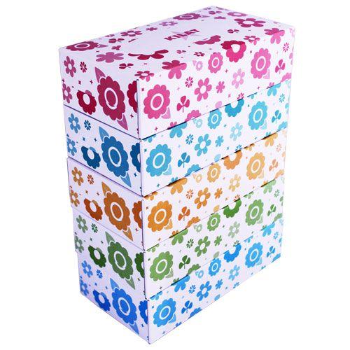 ボックスティッシュペーパー 150組(150W) 1パック(5箱)