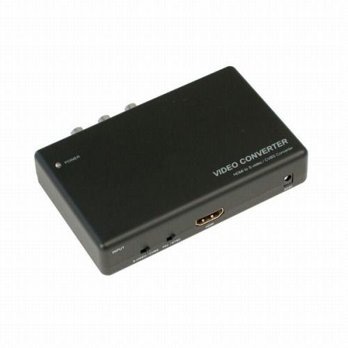 テック コンポジット 変換コンバーター ビデオコンバーター HDMI→S-video ダウンスキャンコンバーター THDMISC2