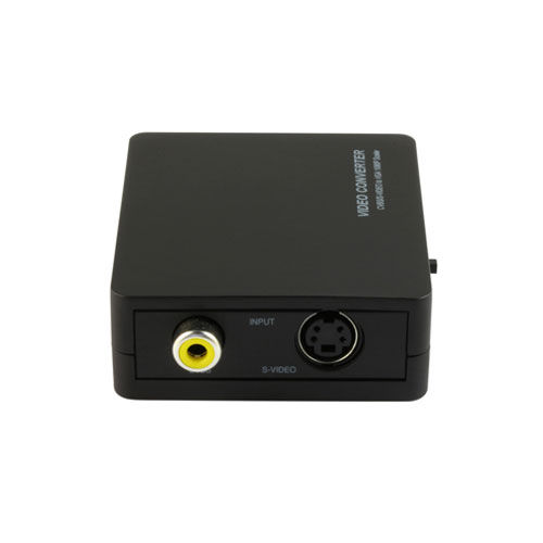 テック コンポジット 変換コンバーター S端子 VGA (Dsub15Pin) ビデオコンバーター TSCVGA2