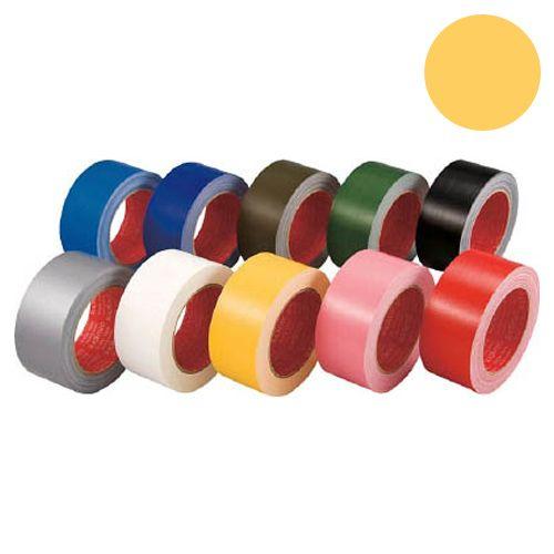 スリオンテック カラー布テープ 50mm イエロー 339000YL0050X25