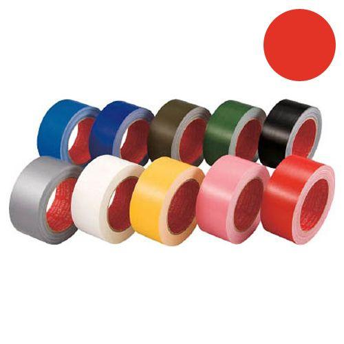 スリオンテック カラー布テープ 50mm レッド 339000RD0050X25