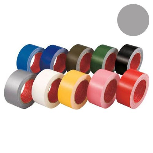 スリオンテック カラー布テープ 50mm シルバー 339000SI0050X25