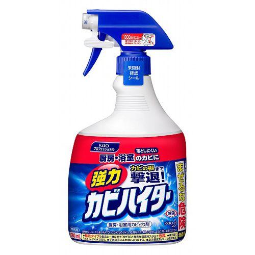 花王 カビ取り剤 ハイター 強力カビハイター スプレー付 1000ml
