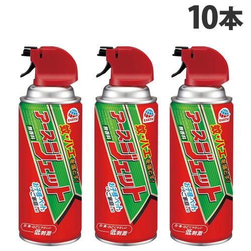 アース製薬 殺虫剤 アースジェット 300ml 10本