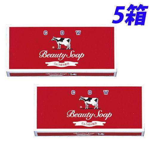 牛乳石鹸 固形石鹸 カウブランド 赤箱 レギュラーサイズ 各100g 6個入×5箱(30個)
