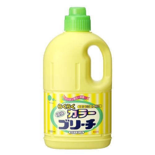 ミツエイ 漂白剤 液体らくらくカラーブリーチ 本体 2000ml