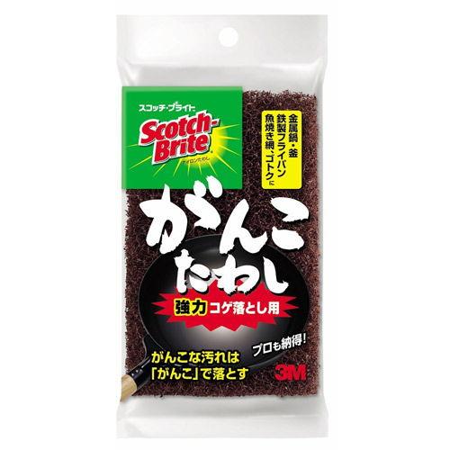 3M スコッチ・ブライト ガンコたわし(強力コゲ落とし用)