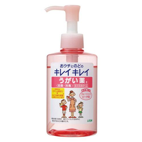 ライオン キレイキレイ うがい薬 フルーツミントピーチ味 200ml【医薬部外品】