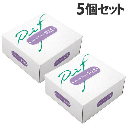 ミツワ ハーフサイズ ティッシュペーパー  50組(100枚) 5個セット