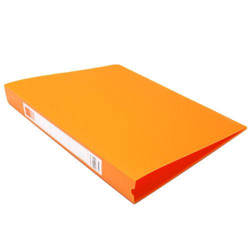 GRATES(グラテス) O型リングファイル A4タテ ビタミンオレンジ