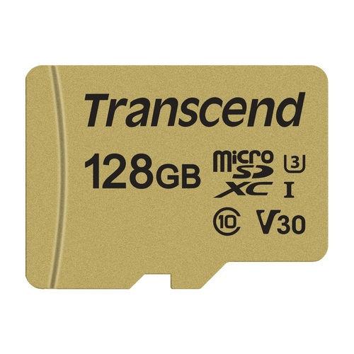 トランセンド SDカード UHS-I U3 MLC 128GB TS128GSDC500S
