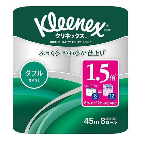 日本製紙クレシア クリネックス コンパクト ダブル 8ロール