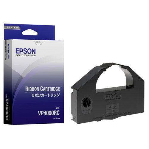 エプソン カセットリボン VP4000RC 6本