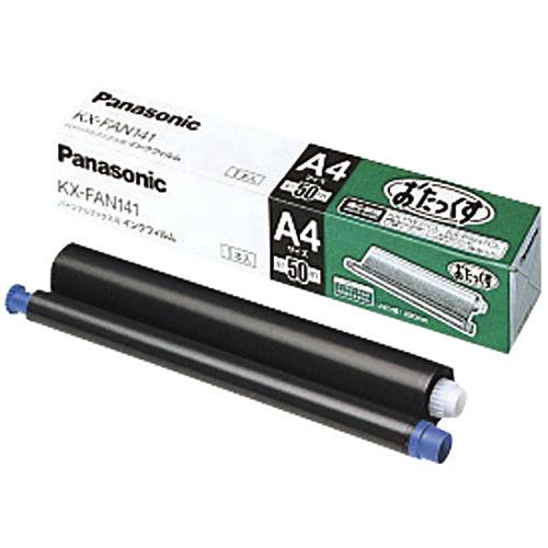 パナソニック FAX用インクリボン KX-FAN141 純正品 1本