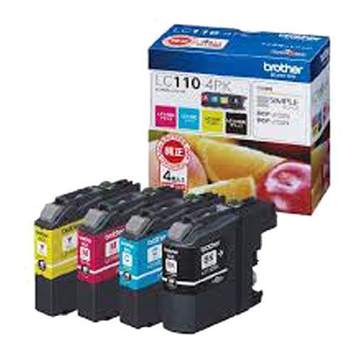 ブラザー 純正インク LC110-4PK LC110シリーズ 4色パック