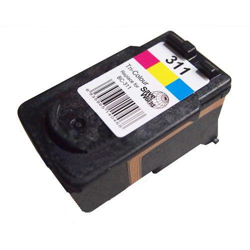 【残量表示付】リサイクルインク互換性 CANON BC-311 カラー