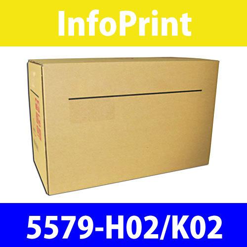インフォプリント カートリッジリボン 5579-H02/K02 1セット(6本)