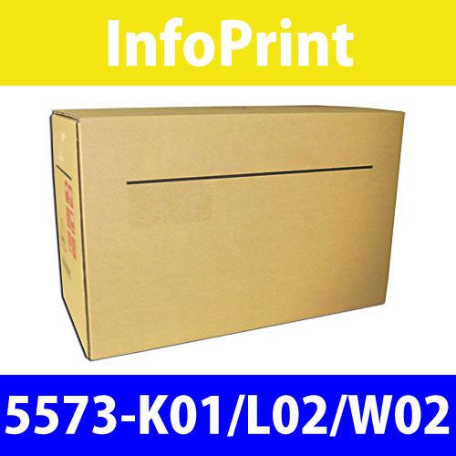 インフォプリント インクリボンカートリッジ 5573-K01/L02/W02 1セット(6本)