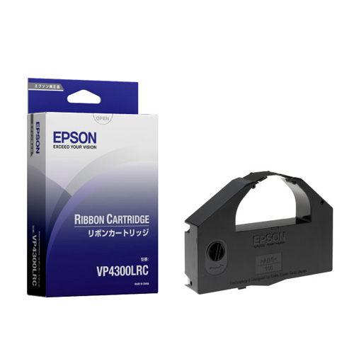 エプソン カセットリボン VP4300LRC ブラック 2本